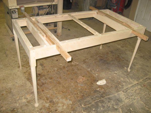 Eric Johnson S Furniture Weblog Tiger Maple Sheraton Drop Leaf Dining Table
