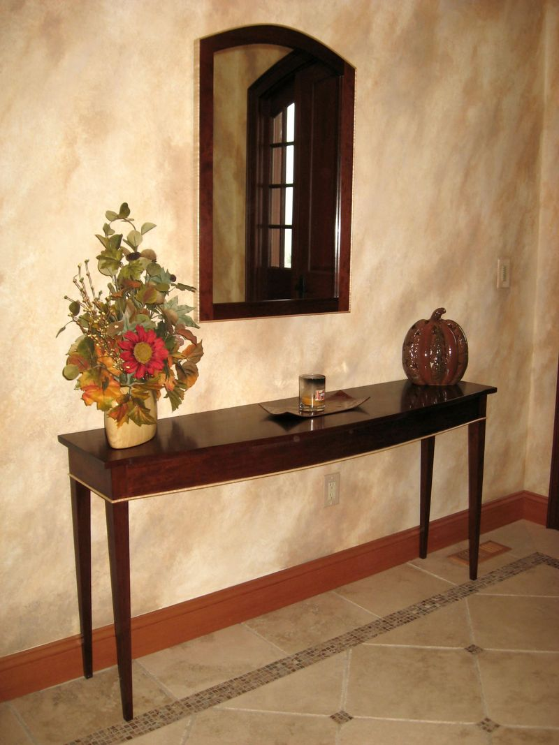 Eric Johnson\'s Furniture Weblog: Arched Cherry Mirror and Sideboard ...